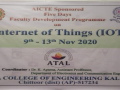 FDP-on-Internet-of-Things-IoT-2020-2021-2